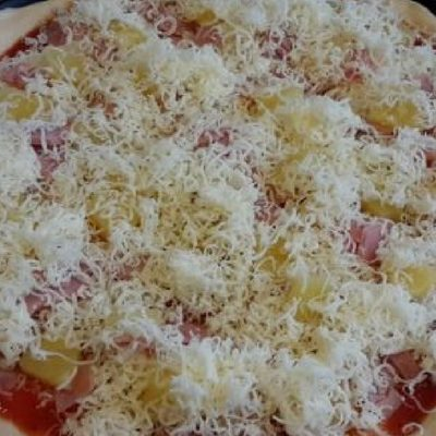 Homemade Pizza – great dinner