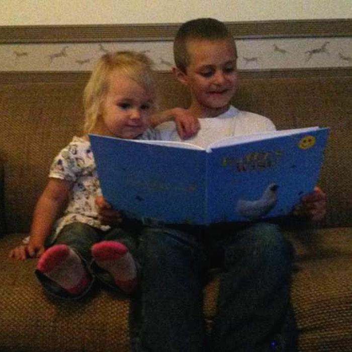 Kids and books