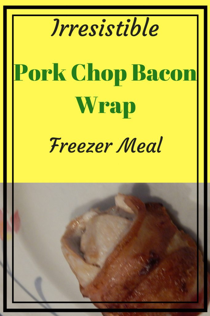 Irresistible pork chop bacon freezer meal, picture of the food cooked