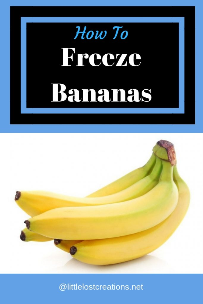 How to freeze bananas, picture of bananas perfectly ripe